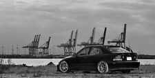 Lexus IS300 Altezza on VOLK Wheels HD Poster B&W Print multiple sizes available