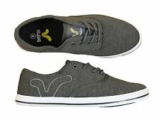 MENS NEW VOI JEANS FIERY GREY-MARL LACE-UP FOOTWEAR ALL SIZES 6 TO 12 LATEST