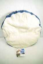 """Nap 26"""" Gusseted Round Pet Beds in Different Colors - New"""