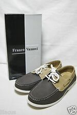 Franco Vanucci Men's Gio-1 Boat Shoes in Different Colors (New)