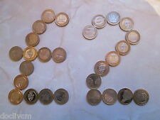 UK Bi-metallic £2 coins and Channel Islands Two Pound coins