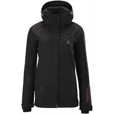 Salomon Women's Supernova Ski Jacket - Black