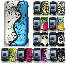 For ZTE Savvy Z750C Multi Design Flowers Skull Hard Snap On Cover Case Accessory