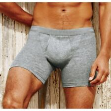 Fruit of the Loom Mens Classic Twill Cotton Boxer Shorts 2 Pack S,M,L,XL,XXL
