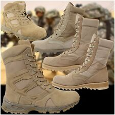 Desert Tan Tactical Boots Gi Jungle Boots Army Military Combat Boots Deployment