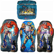 TRANSFORMERS BALLOON BIRTHDAY PARTY SUPPLIES OPTIMUS PRIME BUMBLEBEE