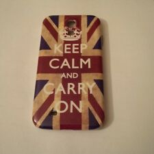 Keep Calm And Carry On Case Cover English British Flag iPhone 5 5S 4S Galaxy S4