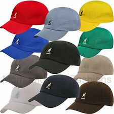 Authentic Kangol Ventair Spacecap Vented Baseball Cap Hat 1456BC Space Cap