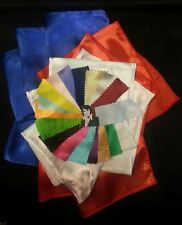 20 Elvis ETA's satin Jumpsuit scarves ready 4 immediate dispatch 17 colors scarf