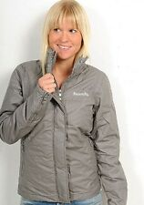 Bench Ladies Grey Hooded Winter BBQ Coat Jacket S M BNWT RRP £80