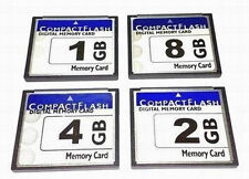 10X Full Capacity CF Memory Card 1GB 2GB 4GB 8G CF Card Compact Flash Card + Box