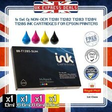 1 X FULL SET COMPATIBLE INK CARTRIDGE FOR EPSON STYLUS SX130 SX125 S22 PRINTERS