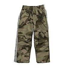 OshKosh B'gosh Boys Green~Brown Athletic Wind Camo Matte Pants 6M 12M 24M  NWT