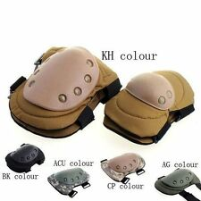 Military Knee and Elbow Protector Tactical Combat Protective Pads Sets colors