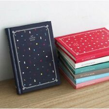 My Little Book Diary 2014 Korean Diary Undated journal Korea Planner Journey 1ea