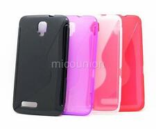 S-Line Wave Soft TPU Cover Case for Alcatel One Touch Scribe HD OT 8008D 8008X