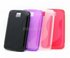New S-Line Wave Soft TPU Gel Cover Case for Alcatel One Touch OT 991 OT 991D