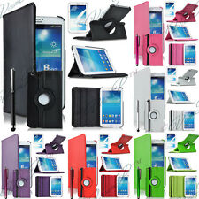 Etui Coque Housses Support Livre Samsung Galaxy Tab 3 III 8.0 T3100 T3110 Films
