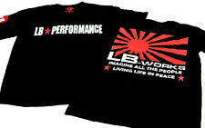 Liberty Walk LB Works LB Performance Official Limited T-Shirts リバティーウォークアメリカ限定