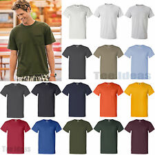 Fruit of the Loom Heavy Cotton HD T-Shirt with Chest Pocket S-3XL 3930PR-3931P