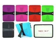 """For Samsung Galaxy Tab 3 10.1"""" Tablet P520/P5210 Rugged Hybird Stand Cover Case"""