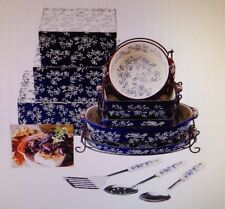 Temp-tations Floral Lace 12pc Limitless Lid-it Set w/ GiftBoxes MISSING 1PC
