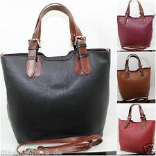 Ital. Bag Women's Bag Leather Bag Handbag Carry Bag Leather Made In Italy
