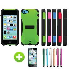 For Apple iPhone 5C Trident Aegis Rugged Protective Case Cover w/ Screen Film