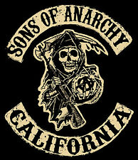 SONS OF ANARCHY TV Show POSTER FX Biker Hells Angels Motorcycle