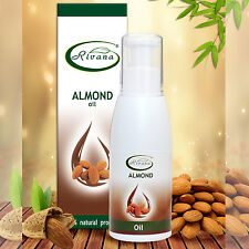 100% Pure Almond Oil natural Massage carrier base oil Aromatherapy 100ml/500ml