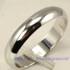 3pcs Wholesale REAL 18K WHITE GOLD PLATED RING size 5.5,6,6.5,7,7.5,8.5 SOLID GP