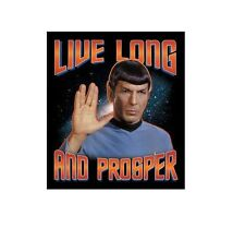 Movie/TV Tee STAR TREK - LIVE LONG AND PROSPER