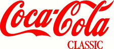 COCA COLA CLASSIC VINYL DECAL STICKER BUY 2 GET A 3RD ONE FREE COKE