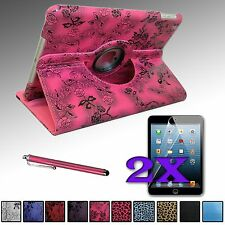 PU Leather Case Cover 360° Rotating Stand for iPad AIR 5 5th Gen + 2xFilms + Pen