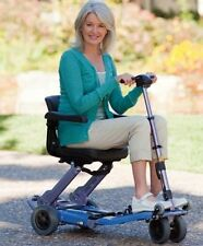 New 2014 Freerider LUGGIE Standard Folding Travel Senior Mobility Scooter Cart