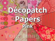 Decopatch Paper/sheets for Decopatch/Decoupage  PINK  99p and only one p/p
