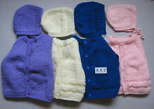 Woolen Hand Knitted Cardigan & Cap for Baby