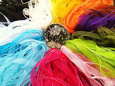 5 to 100 Organza Ribbon and Cord Necklaces ~ Adjustable with Chain & Clasp
