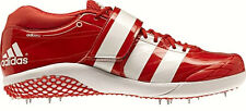 New Mens ADIDAS AdiZero Javelin 2.0 Track Field Spikes Shoes Reddish Orange 9.5