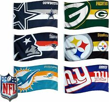 Official NFL American Football 5x3ft FLAG Banner With Eyelets Xmas Present Gift