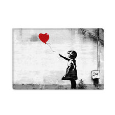 Girl with a Balloon Banksy Canvas Print Painting Reproduction