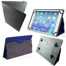 "8.9"" to 10"" Universal Adjustable Folio Book style Tablet Canvas Stand Cover Case"