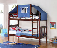 TWIN MISSION TENT BUNK BED CAPPUCCINO bunkbeds beds!!!