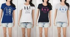 NWT Abercrombie & Fitch A&F By Hollister Women Betty Embellished Tee T Shirt