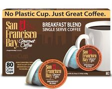 San Francisco Bay Coffee PICK ANY FLAVOR OneCups for K-Cup Brewers 80-160 Count