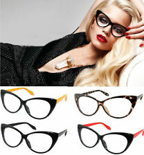 Vintage Classical Cat Eyes Design Clean Lens Eyeglasses Glasses Summer Sexy