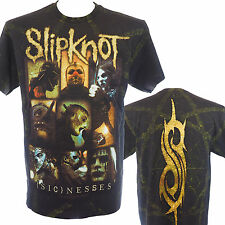 SLIPKNOT - SICKNESSES ALLOVER - Official T-Shirt - Heavy Metal - New S M L XL