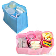 BG2 Travel Mother Bag Nappy Bag Storage Baby Nappies Diaper Bottle Clothes S/M/L