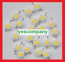 100pcs 1w Led Chip High Power LED Beads 110LM Epistar Warm/pure /Neutral 10000k