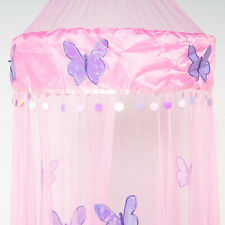 *Round Hoop* with Butterfly Bed Canopy Mosquito Net for All size Bed more color